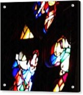 Stained Glass View Acrylic Print