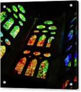 Stained Glass Windows -  Acrylic Print