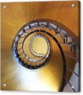 Staircase At Azay Le Rideau Acrylic Print