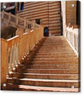 Staircase At Scala Della Ragione - Verona Italy Acrylic Print