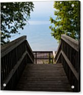Staircase Of Tranquility Acrylic Print