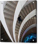 Stairs  Bruininks Hall University Of Minnesota Campus Acrylic Print