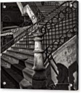 Stairs In The Markethall  Acrylic Print