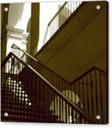 Stairs To 2nd Floor Acrylic Print