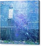 Stairs To Blue Acrylic Print