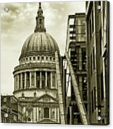 Stairs To St Pauls Acrylic Print