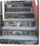 Stairs To The Plague House Acrylic Print