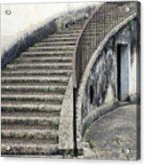 Stairs To Underground Acrylic Print