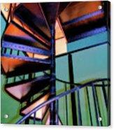 Stairway Bright Acrylic Print