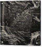 Stairway In The Glen Acrylic Print