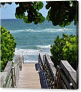 Stairway To Haven Acrylic Print