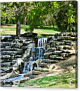 Stairway To Water Acrylic Print
