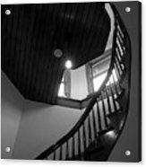 Stairwell To The Studio Crow's Nest Acrylic Print