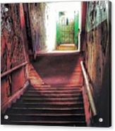 Stairwell Acrylic Print