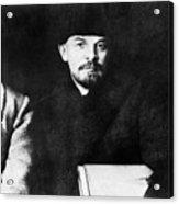 Stalin, Lenin & Trotsky Acrylic Print