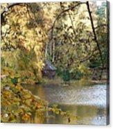 Stalking The Boathouse Acrylic Print