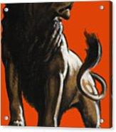 Stand Firm Lion - Ww2 Acrylic Print