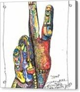 Stand Acrylic Print by Robert Wolverton Jr