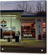 Standard Oil Museum After Dark 17 Acrylic Print