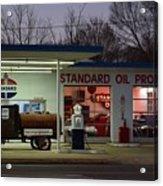 Standard Oil Museum After Dark 18 Acrylic Print
