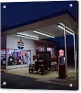 Standard Oil Museum After Dark 19 Acrylic Print