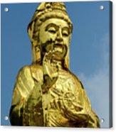 Standing Budda Acrylic Print