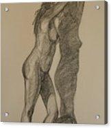 Standing Nude 1 Acrylic Print