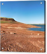 Standing On The Lakebed Acrylic Print