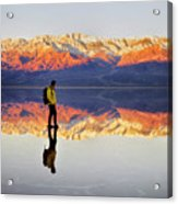 Standing On Water Acrylic Print