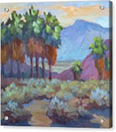 Standing Tall At Thousand Palms Acrylic Print