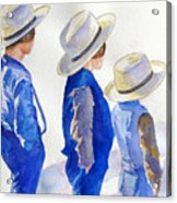 Standing Watch Acrylic Print