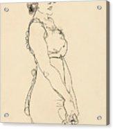 Standing Woman Acrylic Print