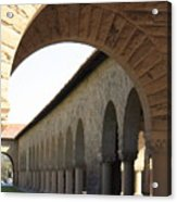 Stanford Memorial Court Arches I Acrylic Print