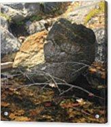 Stanislaus Rocks Spring Acrylic Print
