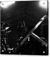 Stanley Clark Bass And Drum Acrylic Print
