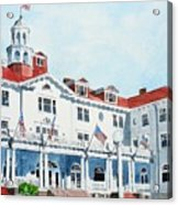 Stanley Hotel Two Acrylic Print