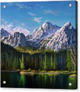 Stanley Lake Reflections Acrylic Print