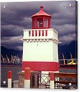Stanley Park Lighthouse Acrylic Print