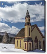 Stannard Church Acrylic Print