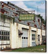 Stans Motor Service Garage Acrylic Print