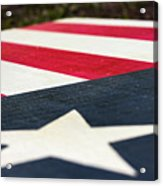 Star And Stripes Acrylic Print