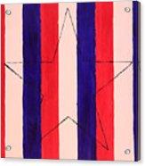 Star And Stripes Acrylic Print