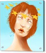 Star Eyed Acrylic Print
