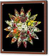 Star Flower Bouquet Creation By Navinjoshi At Fineartamerica.om Graphics Art   Elegant Interior Deco Acrylic Print