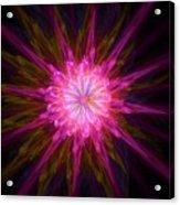 Star Flower Acrylic Print