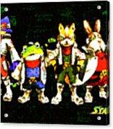 Star Fox Zero Acrylic Print