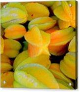 Star Fruit Acrylic Print