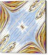 Star Galaxy Central Acrylic Print