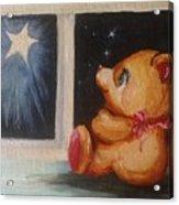 Star Light Bear Acrylic Print