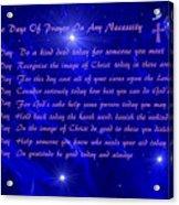 Star Light Star Bright Acrylic Print